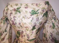 Oh my!  Romantic Era Print Dress.