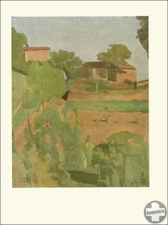 Original Tipped in Art Print Giorgio Morandi Early 1930 Paesaggio Oil Painting | eBay