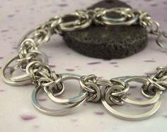 Stainless Steel Chainmaille Bracelet Kit  by UnkamenSupplies