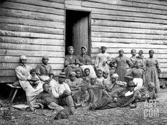 Civil War: Freed Slaves Photographic Print at Art.com