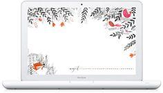 Beautiful Desktop Background by Dinara Mirtalipova (Oh so beautiful Paper)
