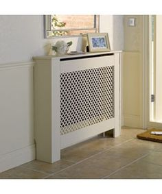 radiator cover...maybe can use as console table in hall with no radiator?
