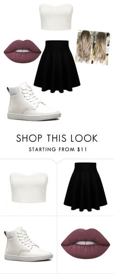 """""""Untitled #97"""" by jazel117 on Polyvore featuring Forever New, Dr. Martens and Lime Crime"""