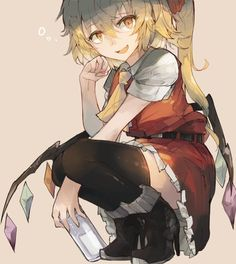 Kawaii Anime Girl, Anime Art Girl, Anime Figures, Anime Characters, Blonde Hair Characters, Anime Behind Glass, Touhou Anime, Character Inspiration, Character Design
