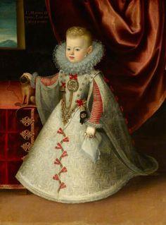 Maria Anna, Infanta of Spain, future Holy Roman Empress by Bartolomé González, c. 1608-1610