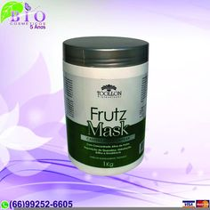 Bio Cosmeticos - Máscara Frutz - Toollon http://www.biocosmeticosmt.com.br/product/281381/mascara-frutz-toollon