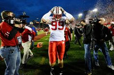 J.J. Watt Photo - Rose Bowl Game - Wisconsin v TCU