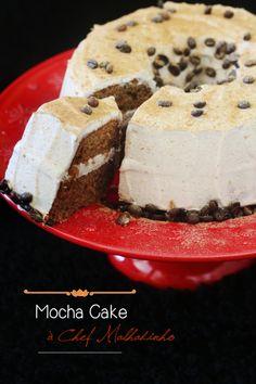 Mocha Cake by Chef Malhadinho