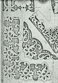 Resultado de imagen para bordado richelieu picasa Cutwork Embroidery, Hand Embroidery Stitches, White Embroidery, Machine Embroidery Designs, Embroidery Patterns, Quilt Patterns, Cutwork Saree, Parchment Design, Cut Work