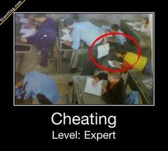 Hilarious Pictures of the day -70 pics- Cheating Level Expert