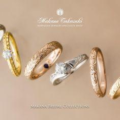 ハワイアンジュエリー リング 結婚指輪 婚約指輪 マリッジリング エンゲージリング エタニティリング ゴールド プラチナ ダイヤ 海 マカナ