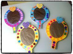 miroir de princesse, bricolage enfant, déguisement princesse