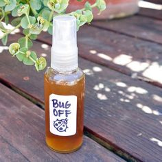 How To Make A Homemade Natural Non-Toxic Bug Spray -Cheap,Proven & Effective #Homemade, #DIY, #handmade