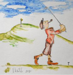 Golfer picture Golf Gifts, Artist, Pictures, Ideas, Photos, Artists, Thoughts, Grimm