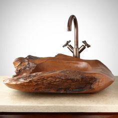 Atalissa Teak Root Vessel Sink