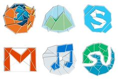 Web 2.0rigami Icons - Artwork by Paddy Donnelly Social Network Icons, Social Icons, Website Icons, Web 2, Cool Websites, Icon Set, Artwork, Work Of Art, Auguste Rodin Artwork
