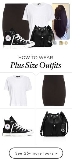 """Birthdays Soon "" by shameslessmya on Polyvore featuring moda, rag & bone/JEAN, MICHAEL Michael Kors, Converse, women's clothing, women, female, woman, misses y juniors"