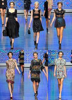 I'll take one of each!                                 Dolce and Gabana spring 2012
