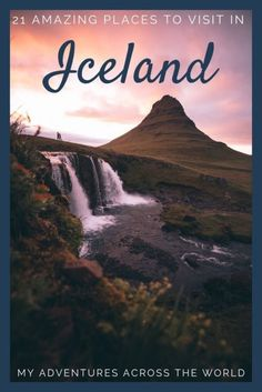 trip to Iceland should be a good combination of wild nature, incredible wildlife, huge empty spaces, and charming small cities: here's how to do it. Read for the best tips to travel to Iceland New Travel, Travel Plan, Travel Hacks, Travel Guides, Travel Tips, Nature Sauvage, Destination Voyage, Wild Nature, Iceland Travel