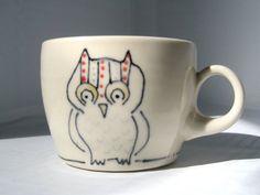 {owl espresso cup} so cute!