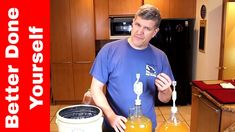 How to Make Probiotic Apple Cider Vinegar to Drink - Part #1 Making Apple Cider, Apple Cider Vinegar Uses, Slow Cooker, Fermented Foods, Make It Work, Kombucha, Apple Recipes, Yummy Food