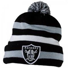 New Era NFL Sport Knit Beanie Oakland Raiders