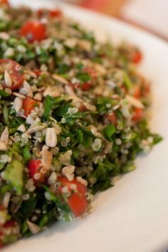 This salad makes another great addition to your picnic basket and can replace the traditional coleslaws or heavy salads.