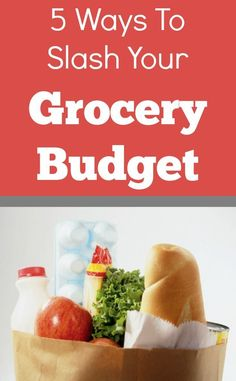 Grocery bill too high? Here are 5 easy ways to save money on groceries just by changing your mindset. Your budget will thank you!