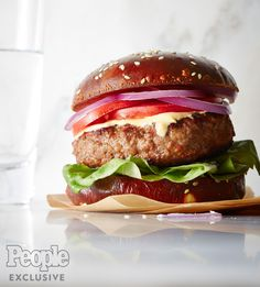 """Burgers are best shared with friends, as foodie and newly minted cookbook author Oprah Winfreysees it. """"My friend Gayle [King] is always on a quest for the all-time best burger, and this ver…"""