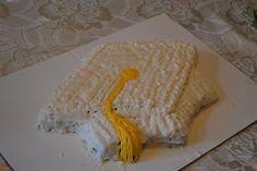 Kindergarten graduation cake