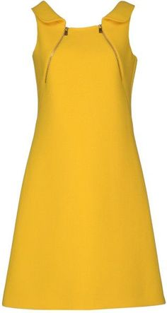 "Michael Kors OFF!>> Michael Kors Short Dress in Yellow. This color mak. - > Michael Kors Short Dress in Yellow. This color mak…""> Michael Kors OFF! Simple Dresses, Day Dresses, Cute Dresses, Beautiful Dresses, Casual Dresses, Short Dresses, Fashion Dresses, Beautiful Life, Nursing Dress"