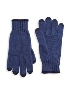 Saks Fifth Avenue Collection Touch Tech Cashmere Gloves In Denim Navy Fifth Avenue Collection, Cashmere Gloves, Mens Gloves, Saks Fifth Avenue, Tech, Mens Fashion, Navy, Denim, Knitting