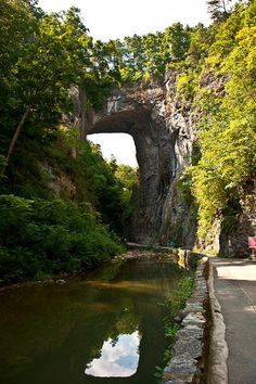 50 Natural Wonders in the United States - Located in the aptly named Rockbridge County is the impressive geological phenomenon known as the Virginia Natural Bridge.