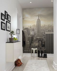 Hey, look at this wallpaper from Rebel Walls, Panorama! #rebelwalls #wallpaper #wallmurals