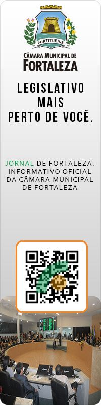 Quando a voz do cidadão demonstra sua força na democracia através da tecnologia, acontece a verdadeira inclusão digital. Informativo da Câmara Municipal de Fortaleza. #QrCode #BYOD