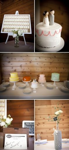 I love the different cake colors! It is like cupcakes but larger...