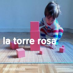 Lo que me hubiera gustado leer en un papel que me hubiera gustado encontrar en la caja de mi primera Torre Rosa: ¡Enhorabuena! Tienes en tus manos una Torre Rosa. ¡Bieeeen! Este es el material Mont…