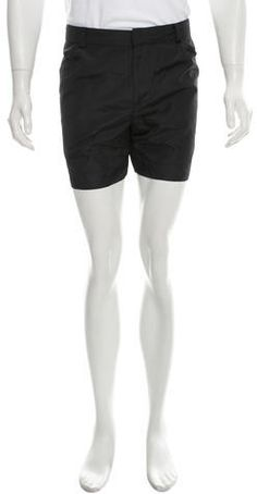 Band of Outsiders Woven Flat Front Shorts Men's Shorts, Casual Shorts, Band Of Outsiders, Welt Pocket, Flats, Zip, Stylish, Fashion, Loafers & Slip Ons