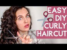 Trim Your Own Hair, How To Cut Your Own Hair, Hair Trim, Cut My Hair, Long Hair Cuts, Thin Curly Hair, Curly Hair Tips, Curly Hair Styles, Curly Girl