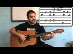 Tutorial: Greensleeves - Fingerstyle Guitar Lesson w/ TAB - YouTube