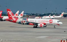 CHR_5588AirAsiaAirbus A320-2169M-AHG (cn 3370) This aircraft has been recently sporting a new interesting livery promoting the Malaysian based smartphone manufacturer Ninetology.