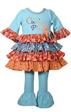 Kate Mack Good Ship Lollypop Tunic /& Capri NWT 9 months-2T