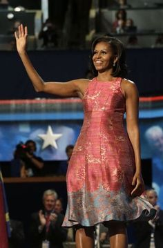 Michelle Obama at the DNC - her speech restored my faith in the American dream.  Maybe it isn't indentured servitude at all....