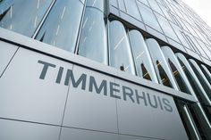 We teamed up with Rem Koolhaas' OMA to design the signage for Timmerhuis, Rotterdam.