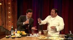 Watch Emeril Lagasse Make Sazeracs With Jimmy Fallon