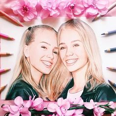 New art for @lisaandlena They are incredible and I absolutely love them. I've been drawing this for 34 hours and I hope they will see it. [They reposted ]