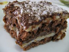Pavê prestígio Sweet Recipes, Cake Recipes, Dessert Recipes, Love Eat, Love Food, Chocolate Flavors, Chocolate Recipes, Brazilian Dishes, Brazilian Dessert