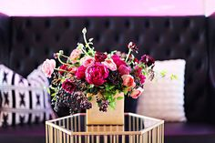 #party #nye #decor #flowers