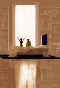 La alegría de la vida en 20 ilustraciones