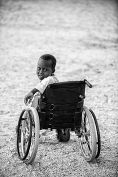 Getting a wheelchair is life-changing. Especially in sub-Saharan Africa where a wheelchair is inaccessible to majority of families.